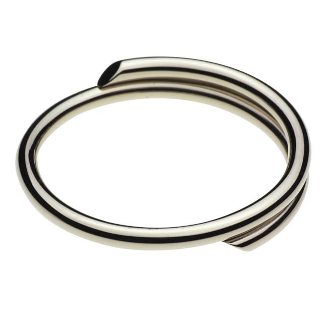 cenote s0019 【ホワイトメタルアクセサリー】 ホワイトメタルキーリング