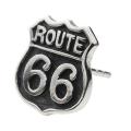 cenote e0563 【シルバーアクセサリー】 ルート66標識ピアス