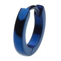 cenote e5010 【ステンレスアクセサリー】 ブルー甲丸フープピアス