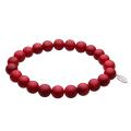 cenote t0607 【パワーストーン アクセサリー】 赤サンゴ8mm玉ブレスレット