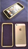 iPhone5/5s用純金フレーム