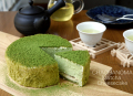 ・10月13日から10月19日のお届け分・ 【冷凍】 茶茶の間の抹茶チーズケーキ (4号)