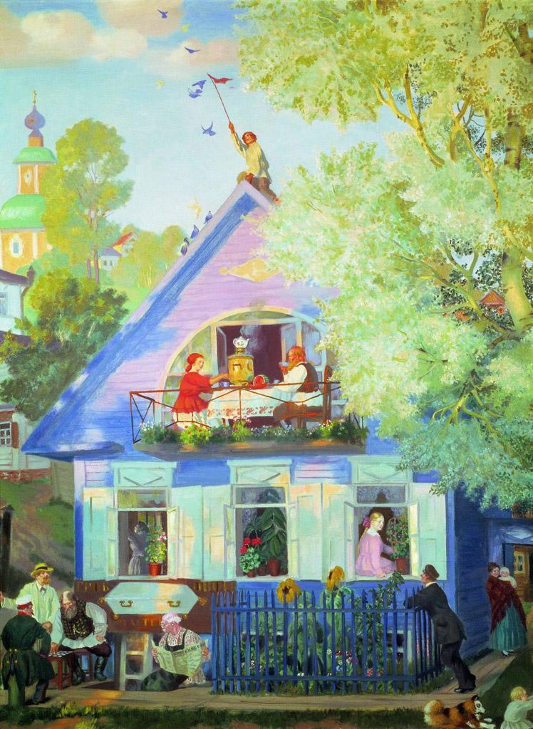 ボリス・クストーディエフ青い屋敷