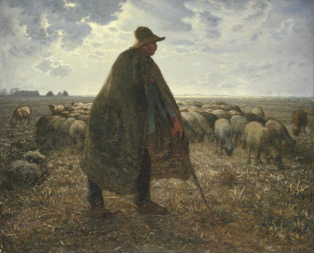 ジャン=フランソワ・ミレー羊飼い