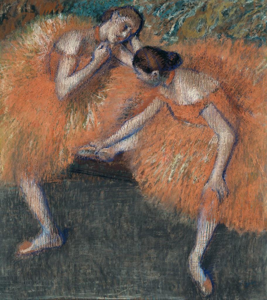エドガー・ドガ二人の踊り子