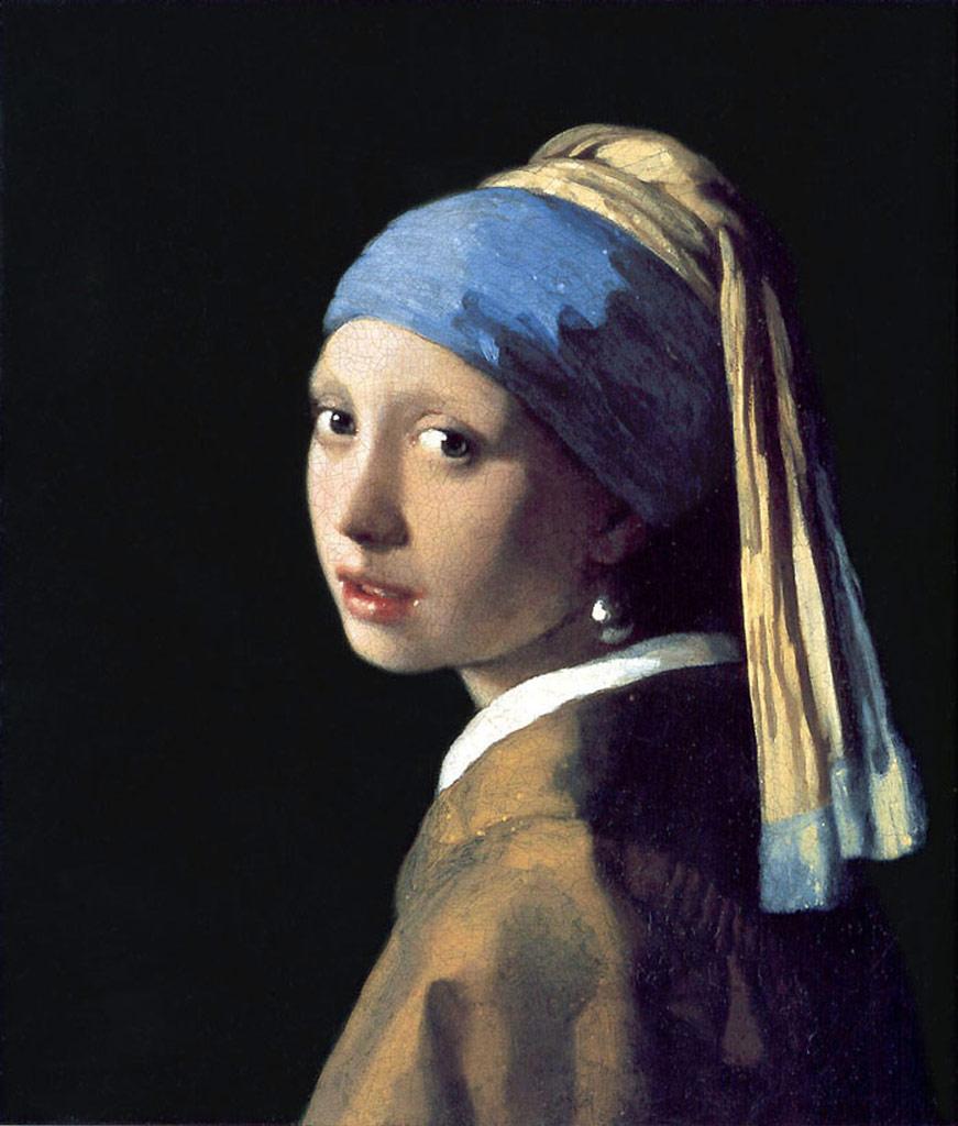 ヨハネス・フェルメール真珠の耳飾の少女(青いターバンの少女)