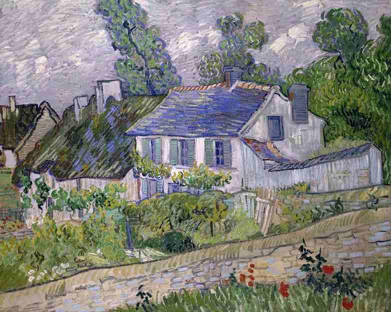 オーヴェルの家々