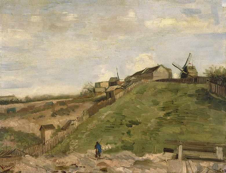 モンマルトル:石切場、風車