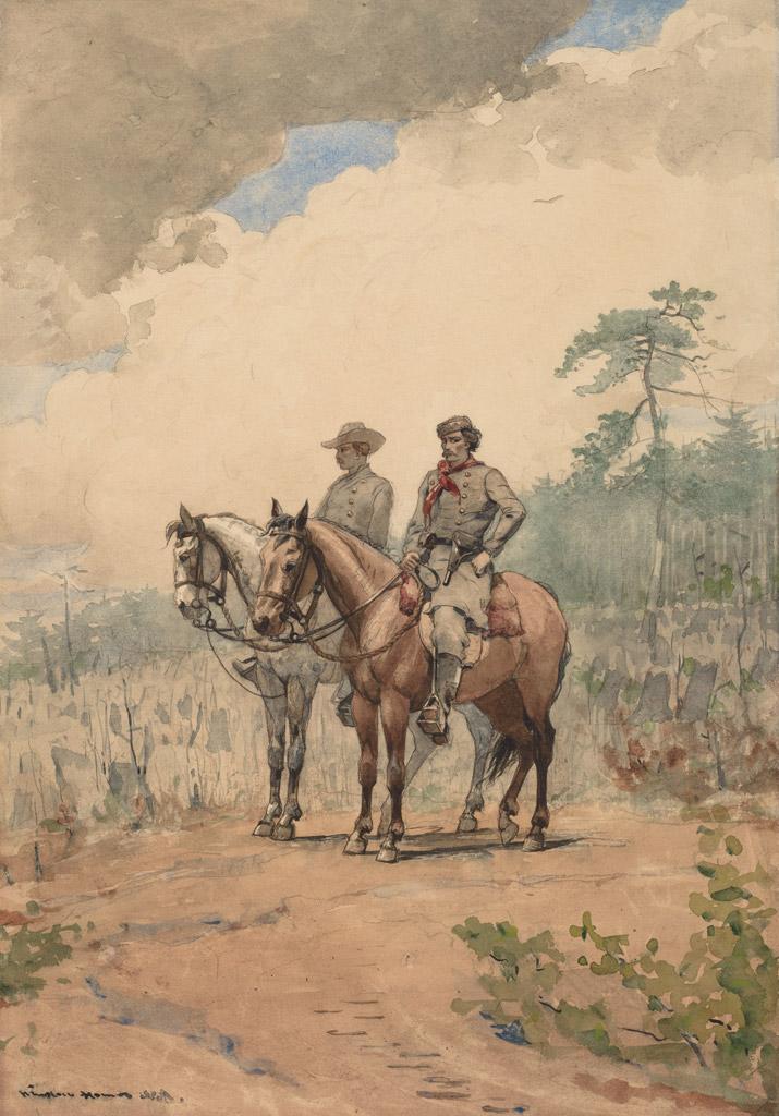 ウィンスロー・ホーマー二人の偵察兵