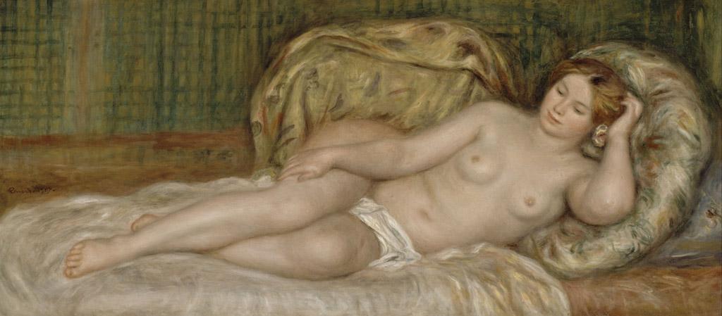 ピエール=オーギュスト・ルノワール裸婦