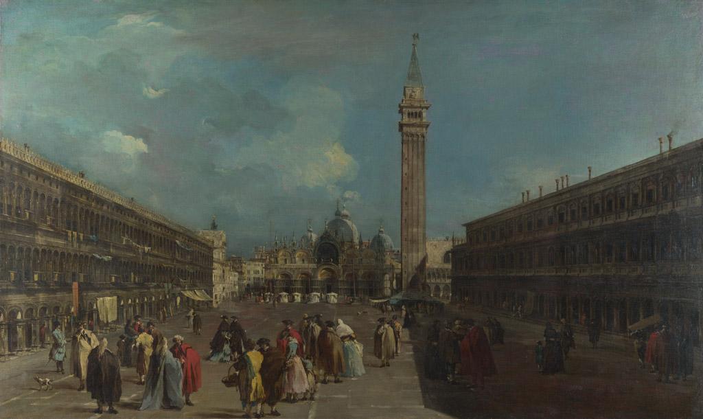 フランチェスコ・グアルディヴェネツィア、サン・マルコ広場