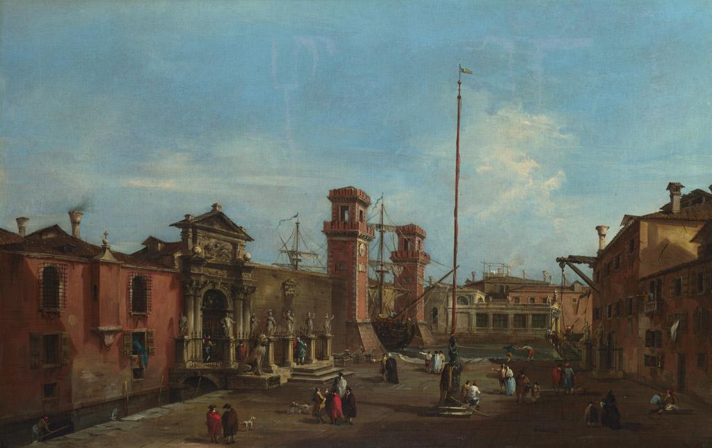 フランチェスコ・グアルディヴェネツィア、国立造船所(アルセナーレ)