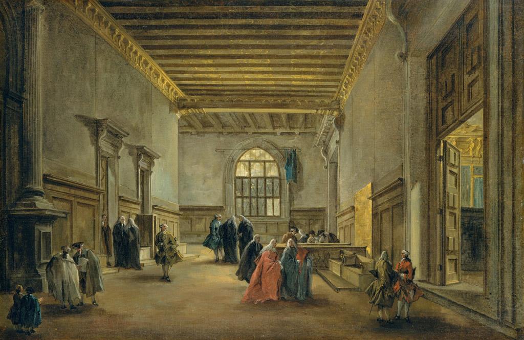 フランチェスコ・グアルディ大評議会室の副室