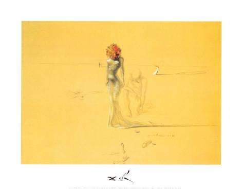 花の頭の女, 1937