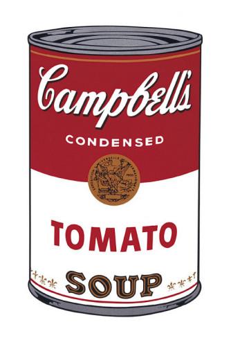 キャンベルスープ I、トマト缶 1968年 (Campbell's Soup I)