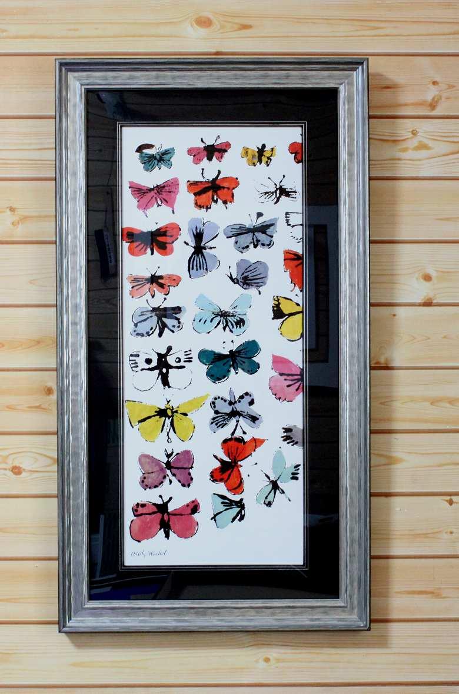 アンディウォーホル「蝶」