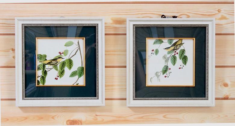 John James Audubon「Carbonated Warbler」
