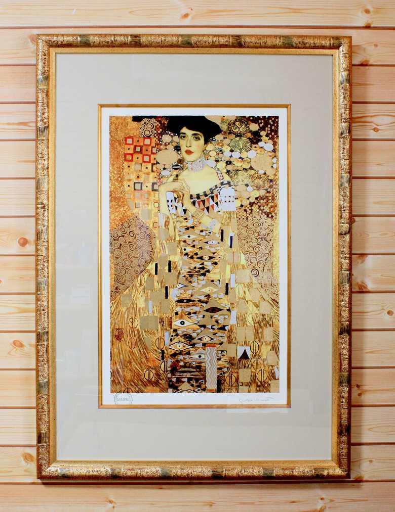 グスタフクリムト「アデーレ・ブロッホ=バウアーの肖像 I」