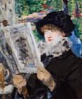 エドゥアール・マネ新聞を読む女性
