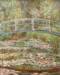 クロード・モネ睡蓮の池に架かる橋
