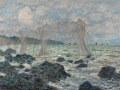 クロード・モネプールヴィルの漁網