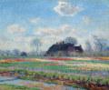 クロード・モネレイデン付近、サッセンハイムのチューリップ畑