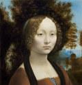 レオナルド・ダ・ヴィンチジネーヴラ・デ・ベンチの肖像