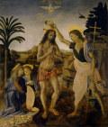 レオナルド・ダ・ヴィンチイエスの洗礼
