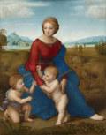 ラファエロ・サンティベルヴェデーレの聖母(牧場の聖母)