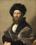 ラファエロ・サンティバルダッサッレ・カスティリオーネの肖像