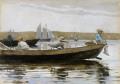 ウィンスロー・ホーマードーリー船の少年