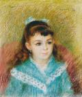 ピエール=オーギュスト・ルノワール少女の肖像