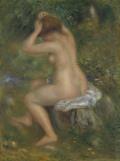 ピエール=オーギュスト・ルノワール浴女