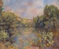 ピエール=オーギュスト・ルノワール湖畔風景
