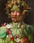 ジュゼッペ・アルチンボルドウェルトゥムヌスに扮するルドルフ2世