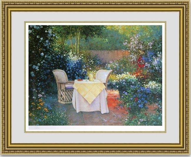 セラフィンセルゴン 「Garden pleasure」 額縁付き