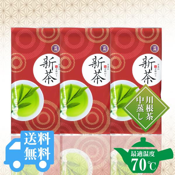 送料無料  逸撰新茶67g×3袋セット / No128