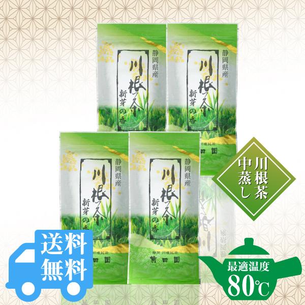 送料無料  新芽の香100g×4袋セット / No140