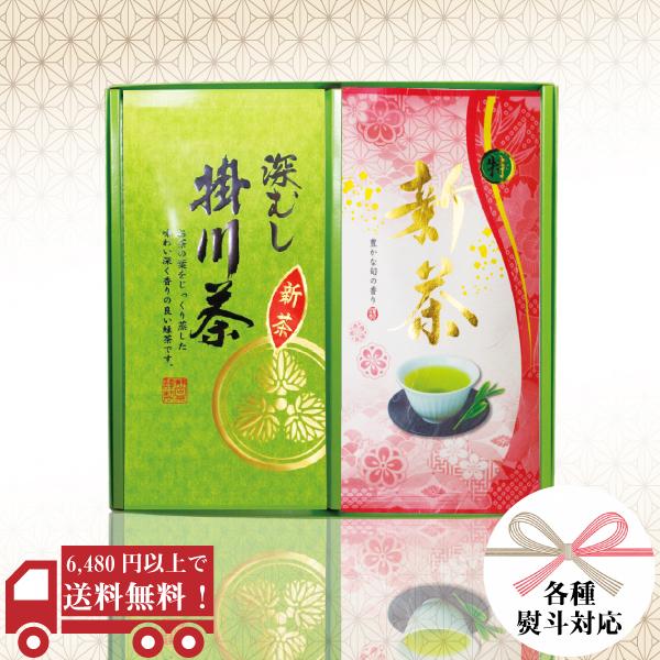 〇特新茶 掛川深むし茶100g平袋 ギフトセット / No151