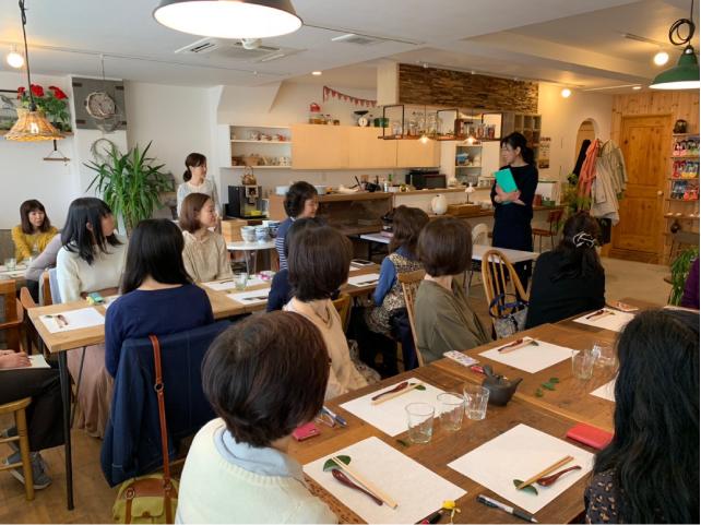 茶と食と 日本茶ワークショップ 2019.3.21