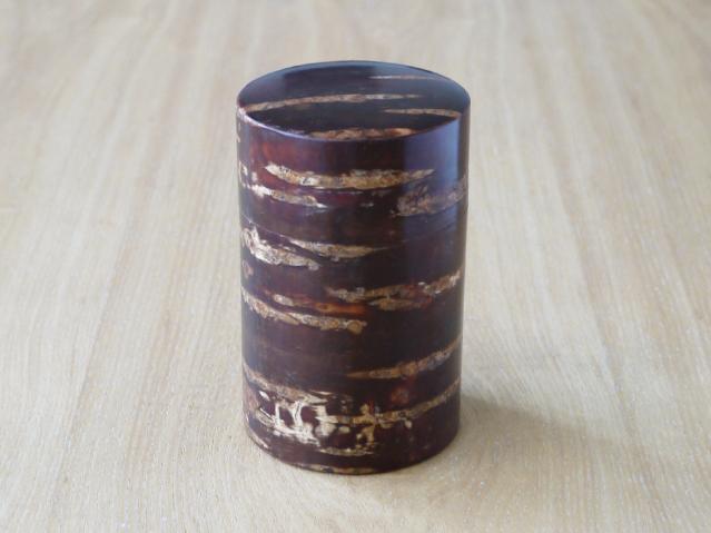 桜皮 茶筒