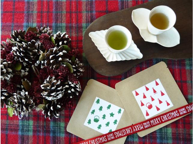 クリスマス 日本茶ティーバッグプチギフト