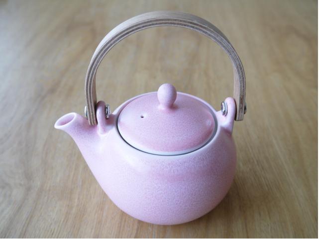 美濃焼 土瓶急須ピンク