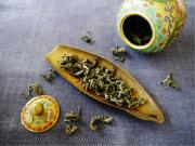 甘茶 壺 茶葉