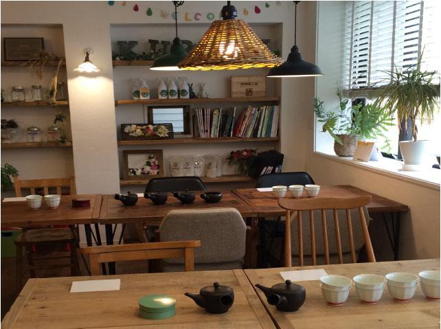 お茶教室 継続クラス【日本茶講座「茶楽」~日本茶はもっと楽しい!暮らしに活かし楽しむ日本茶~】2019年9月~2020年1月(第1期 全5回)