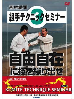 西村誠司 組手テクニックセミナー3 (DVD)