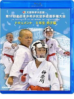 第17回全日本少年少女空手道選手権大会[5年生男子編] (Blu-ray)