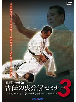 剛柔流拳法 古伝の裏分解セミナー3 ~セーパイ・シソーチン編