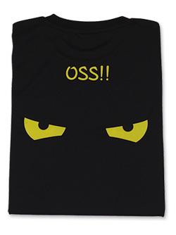 Tシャツ OSS!! アイコンタクト (黒) 画像
