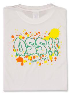 Tシャツ OSSに塗れ!! (白) 画像